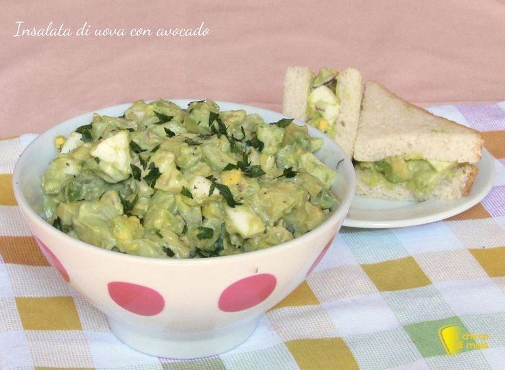 insalata di uova con avocado cremoso ricetta estiva il chicco di mais