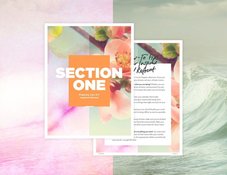 Inspired ebook design {gorgeous!!} | Fresh by Sian
