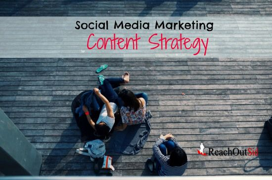 Social Media Marketing Content Strategy