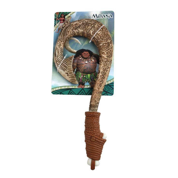 Disney Moana Colors Maui Magic Weapon Hook Knife Moana Lightsaber Toy Light Musical Toys for Children Birthday Kids Gift