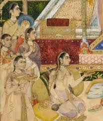 14th century mughal clothes - Google Search
