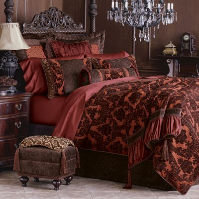 Love this bedding from Chateau DeVore-New Orleans, LA.