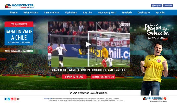 Relata tu Gol - Homecenter Colombia Kv Website