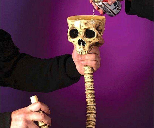 Skull Beer Bong - https://tiwib.co/skull-beer-bong/ #AlcoholicGear #gifts #giftideas #2017giftideas #xmas