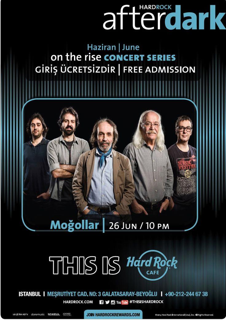 Hard Rock Cafe Konserleri Hız Kesmeden Devam Ediyor