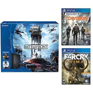 #eBay: $399.00: Playstation 4 Star Wars 500GB Console  Far Cry Primal  Tom Clancy's Division $399  Free Shipp... #LavaHot http://www.lavahotdeals.com/us/cheap/playstation-4-star-wars-500gb-console-cry-primal/74791