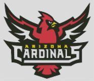 Cross Stitch Chart Arizona Cardinal Logo 2