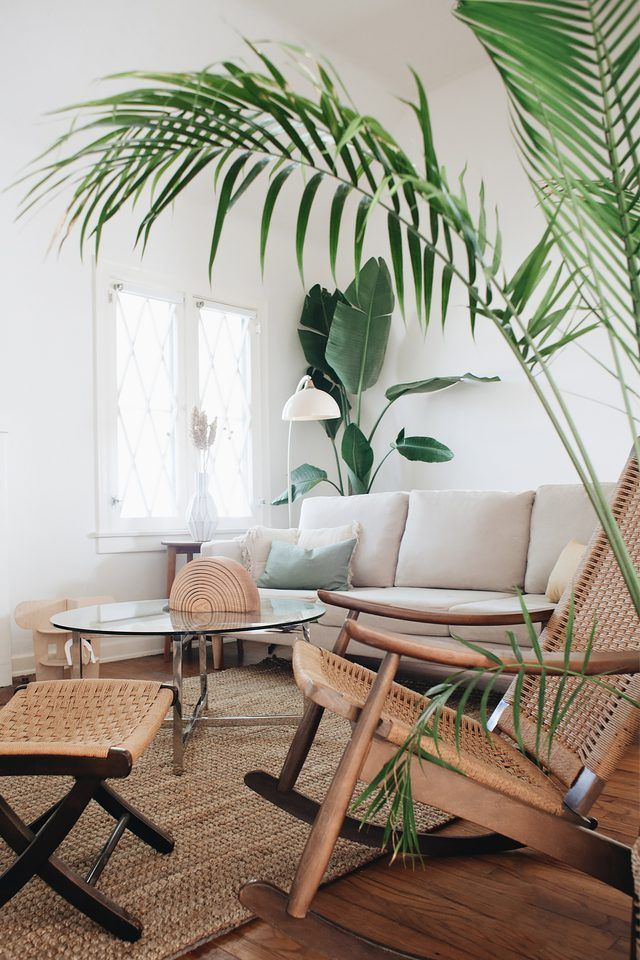 11 Tropical Living Room Ideas That Will Drive You Wild Hunker Tropical Living Room Tropical Living Room Ideas Tropical Home Decor
