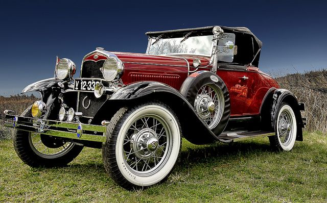 Classic Car HDR Ford A Roadster 1931 by Sir. Jensen