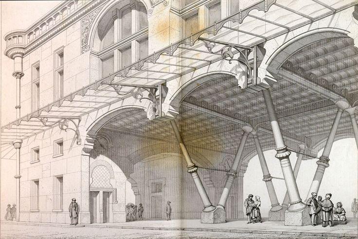 Viollet-le-Duc aseguraba que el progreso era la idea central de la buena arquitectura, el cual se lograba a través de la razón y la lógica.