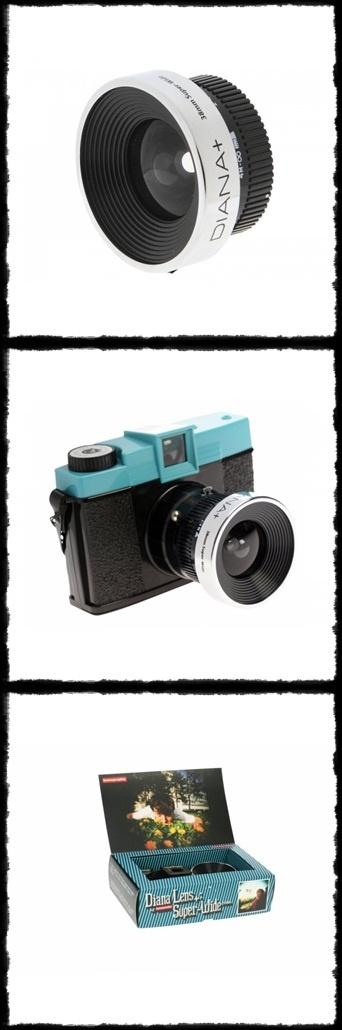 Lomo Diana+ 38mm Super Wide A. Lens