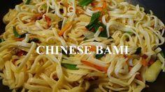 Chinese bami (authentieke bami van Chinees restaurant)
