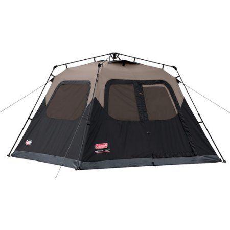 Coleman 6-person Instant Cabin Tent, Black
