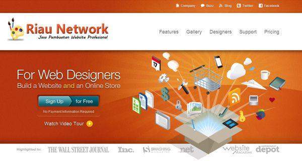 Jasa Web Design Riau Network Merupakan salah satu penyedia layanan jasa pembuatan web, jasa web design, jasa web developer, jasa pembuatan toko online, jasa web portal berita Sistem Informasi berbasisi Web, Sistem Informasi Akademik, Website Iklan Baris. Website Properti, dan lainnya.