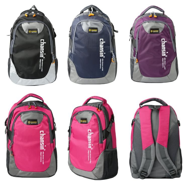 Cheap Array Fashion Men Women Travel Backpack Casual School Bag Contrast Unisex Laptop Bag Hiking Backpack Online Shopping | Tomtop