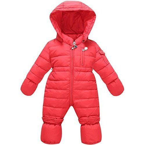 ZOEREA Piumino bambino invernale Tute da neve per neonato Tuta Giacca bambina Tutine neonato 3-8 mesi