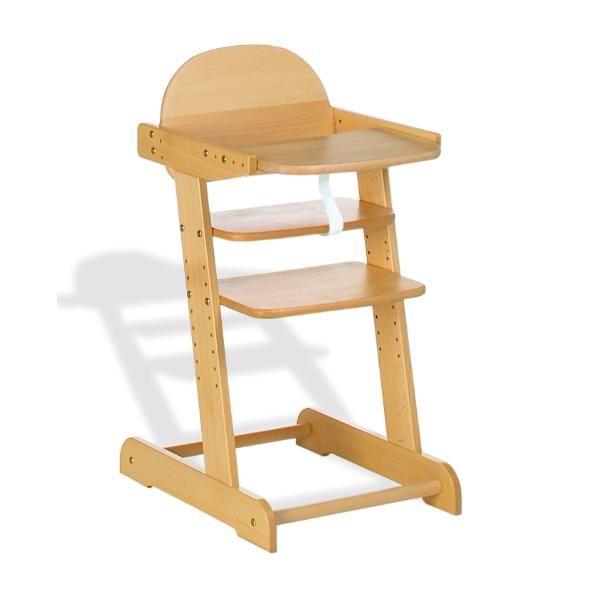 Les 25 meilleures id es de la cat gorie chaise haute bois for Acheter chaise stokke