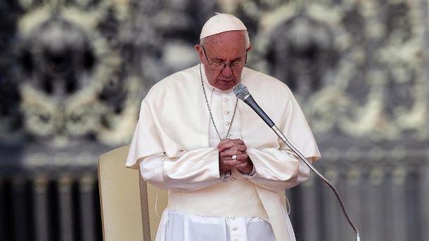 Papst Franziskus bei einer Audienz. (Quelle: dpa)