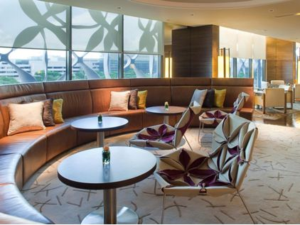 Club Lounge do Hotel Crowne Plaza Changi Airport
