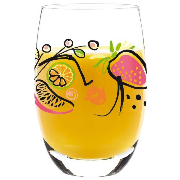 Juice Glass Designed by Michal Shalev #Ritzenhoff