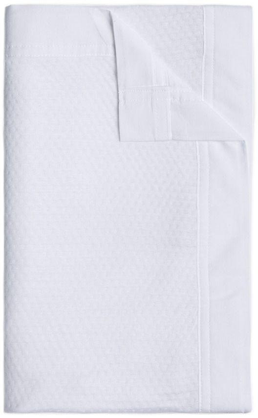 Adairs Baby Pure Bamboo Cot Blanket White