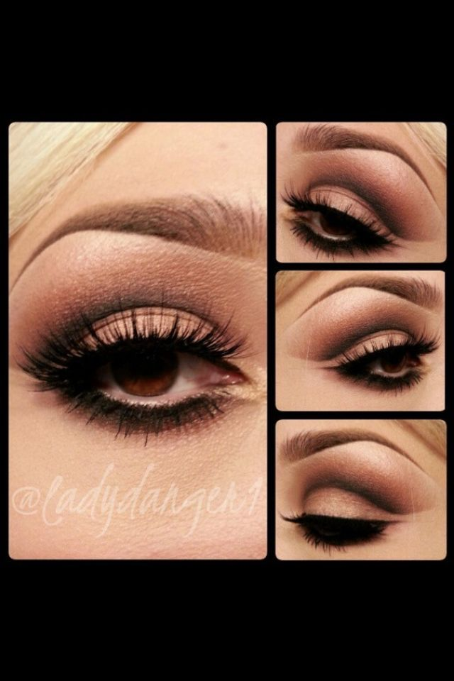 Cut Crease Makeup: Cut Crease Smokey Eye