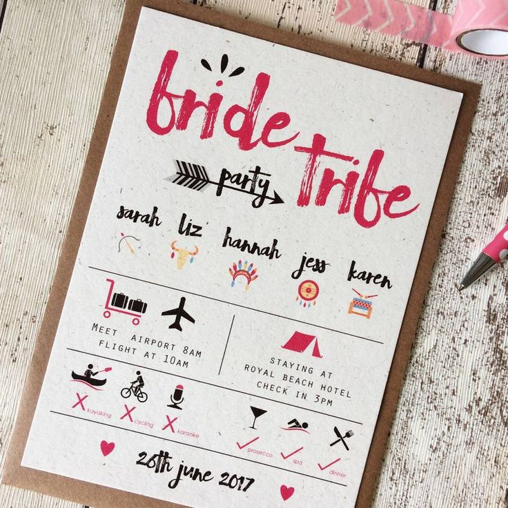 The 25 best ideas about Hens Party Invitations – Party Invitation Pinterest