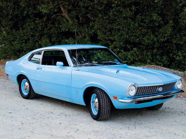The 1st!  1972 Ford Maverick