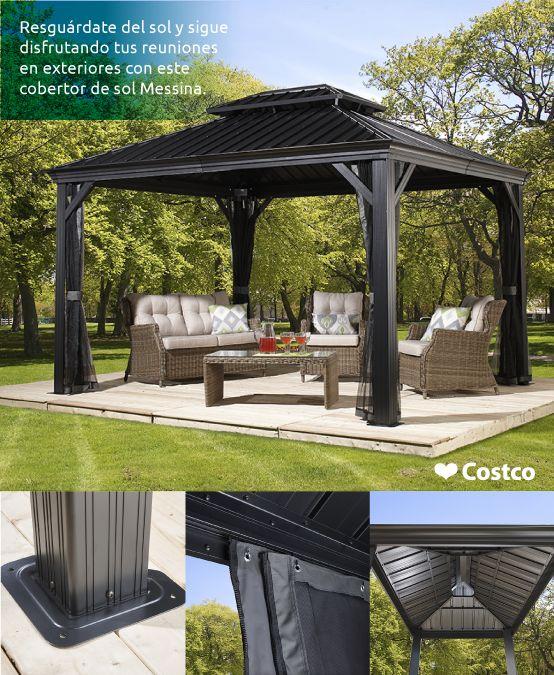 Este toldo te ofrece la mejor calidad y resistencia ante cualquier clima. Una opción perfecta para disfrutar esos espacios al aire libre.