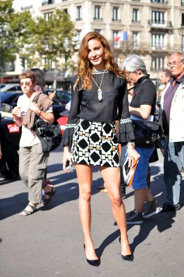 Ece Sükan's Personal Style,  Editor at Large for VOGUE Turkey #StreetStyle