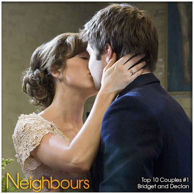 Declan and Bridget | Top 10 Neighbours Couples Of All Time