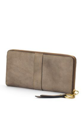 Frye Ilana Harness Zip Wallet - Grey - One Size