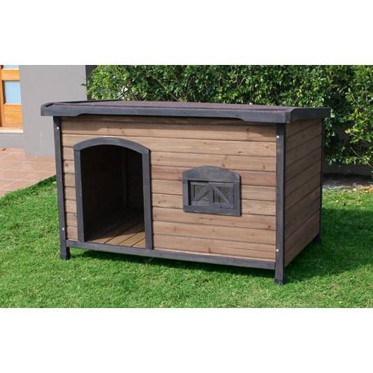 Brunswick X-Large Wooden Insulated Flat Dog House shopping, Buy Wood Dog Houses online at MyDeal for best deals, coupons, bargains, sales