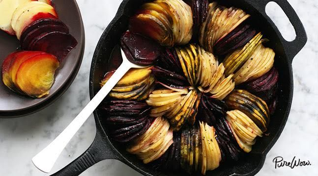 Oven-Roasted Beets and Potatoes --- A side dish that will be the star of the dinner show