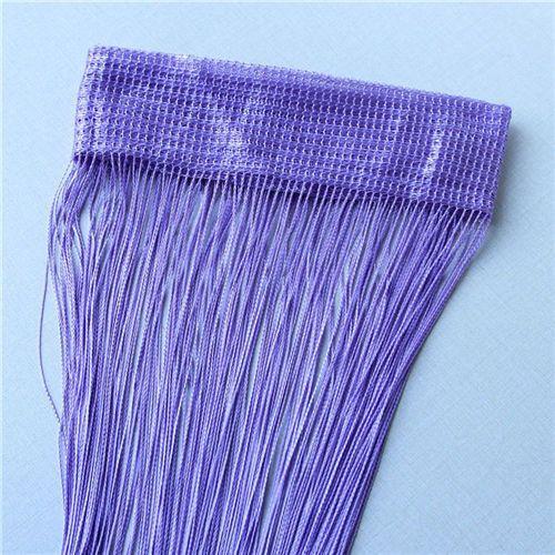 2m*1m 12 Colors String Curtains Door Window Panel Curtain Divider Yarn String Curtain Strip Tassel Drape