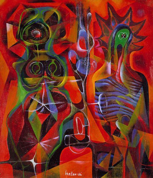 The Spectral Attitudes, 1941, Gerome Kamrowski