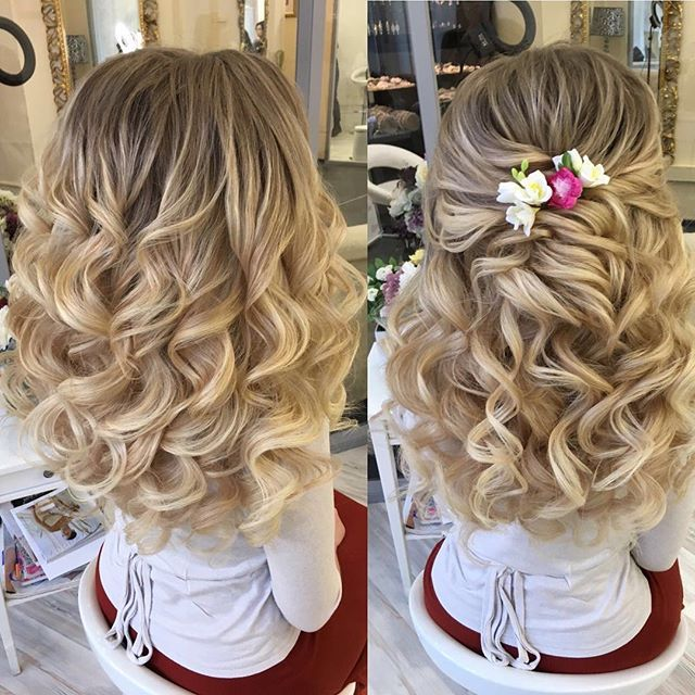 25 unique flower girl hairstyles ideas on pinterest little girl instagram post by elstile elstile side curls hairstylesflower girl pmusecretfo Gallery