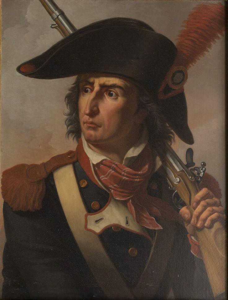 Thévenin - Pierre-François-Charles Augereau, duc de Castiglione (1757-1816) / Château de Versailles; Corps central, Grands Appartements salle de 1792