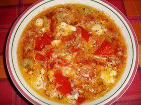 Το πικάντικοΣερραϊκόμπουγιουρντί μαγείρεψε και παρουσιάζει η Ρούλα:    Υλικά 1 καυτερή πιπεριά ψιλοκομμένη 2 μέτριες ντομάτες κομμένες στα...