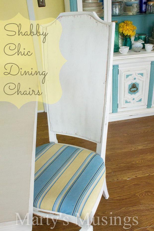 Die besten 25+ Shabby chic dining chairs Ideen auf Pinterest - shabby chic küche