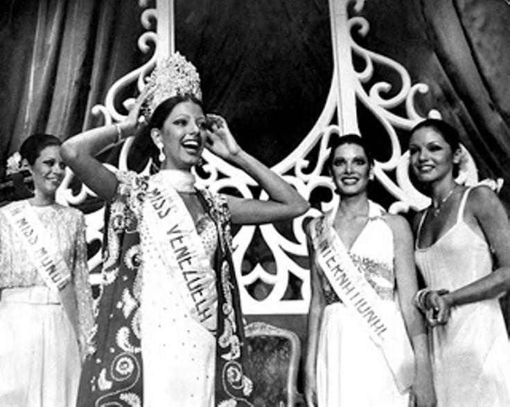 Elluz Peraza Abdica por Amor a la Corona como la mujer mas Bella y Judith Castillo Quien de manera Sorprendente Sucede a Elluz como la Nueva Soberana como Miss Venezuela 1976..