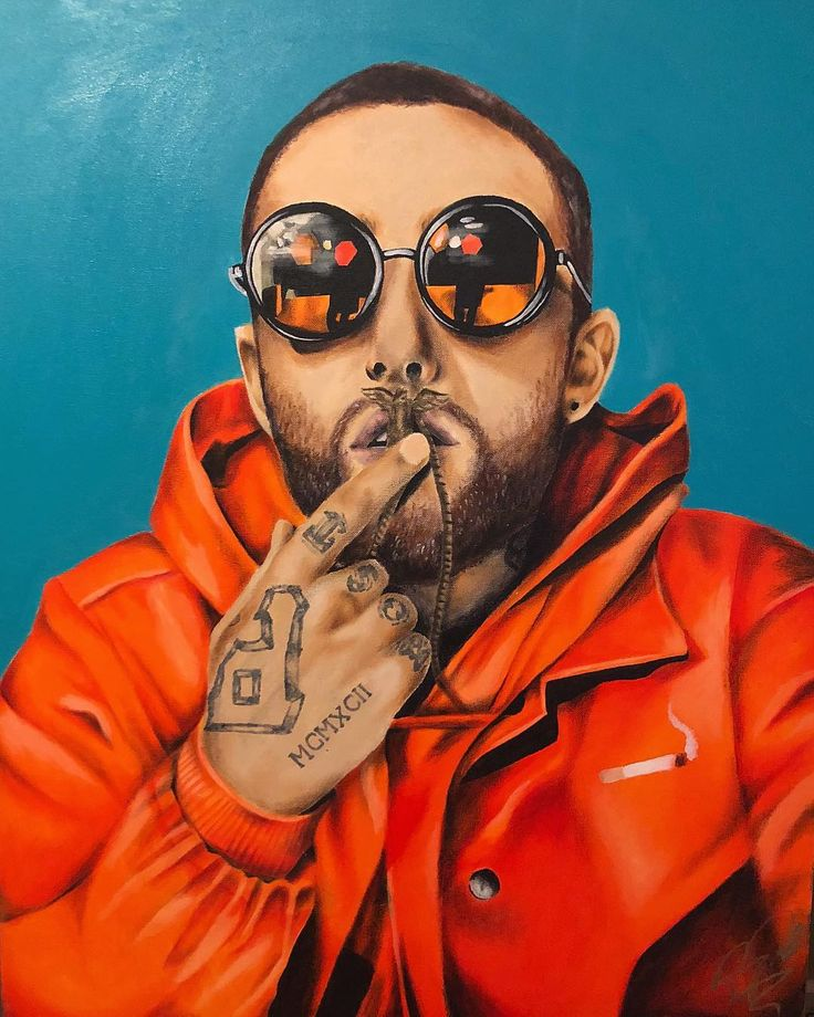 Finally finished with this full color macmiller portrait
