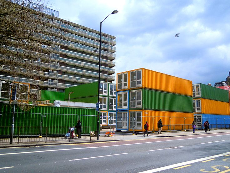 Centre for creative communities to launch in elephant and castle the artworks elephant - Container homes london ...