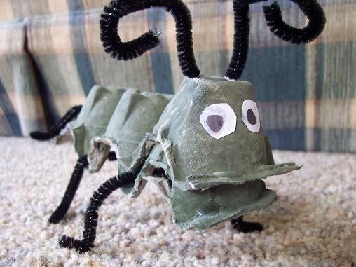 Ant -- We would probably paint ours a fun color and use googly eyes!