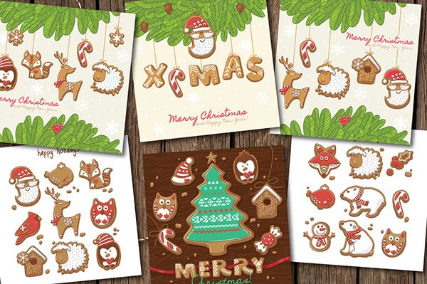 Christmas Gingerbread on Behance