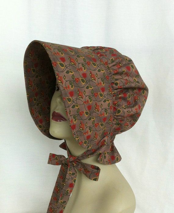 Easter Bonnet  Pioneer Bonnet  Gardening Bonnet  Sun by 4PennyGirl