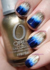 dip dye nails!