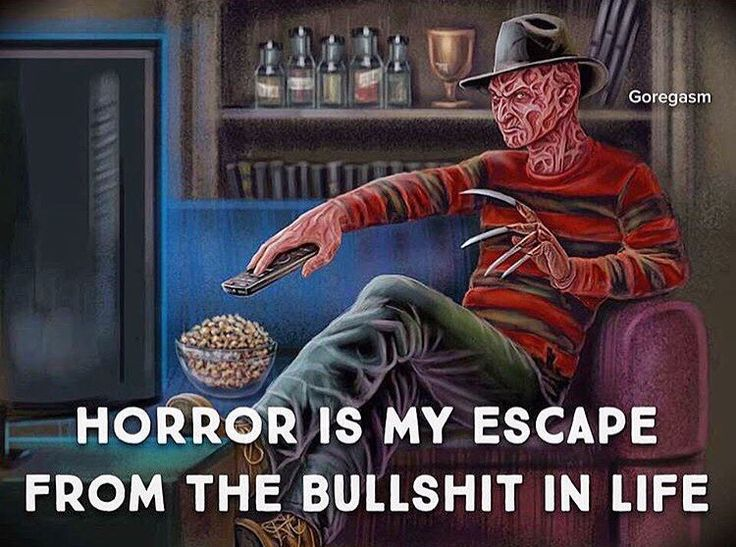 A Nightmare on Elm Street horror movies area my escape