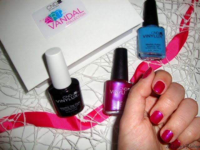 In Mary's Makeup: CND Vinylux New Collection #artvandal