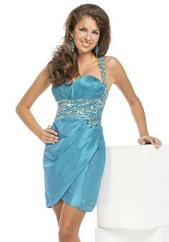Fancy Spring & Summer Satin Sweetheart Sheath/ Column Evening Party Gown - Lunadress.co.uk